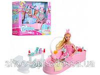 Кукла шарнирная с ванной комнатой, вода из душа, аксессуары