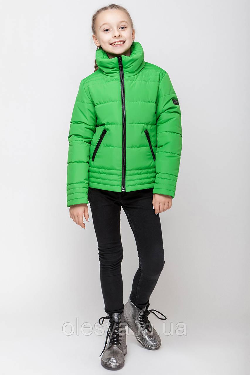 Демисезонная куртка для девочки подростка Размеры 134 140