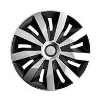 Авто колпаки Argo Penta Silver&Black R15