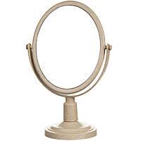 Зеркало косметическое двухстороннее с увеличением 28 см 039Z