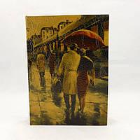 Шкатулка сейф в виде книги Пара под зонтом