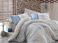 Семейный комплект постельного белья  Carmela бежевый