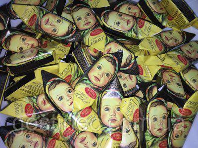 Шоколадные конфеты Аленка шоколадно - вафельная фабрика Красный Октябрь, фото 1