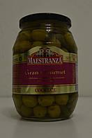 Оливки Maestranza с косточкой и корнишонами, 950 г Испания
