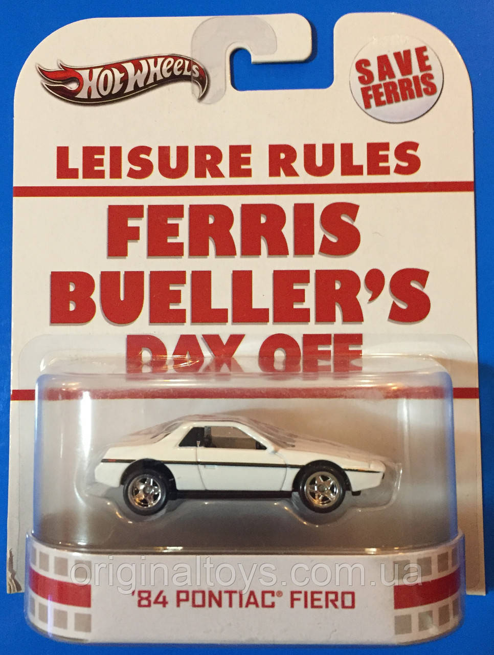 Коллекционная машинка Hot Wheels Pontiac Fiero 1984