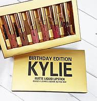 Акция Набор помад валентинки Kylie 12в1 Сердечко! Лучший Подарок!