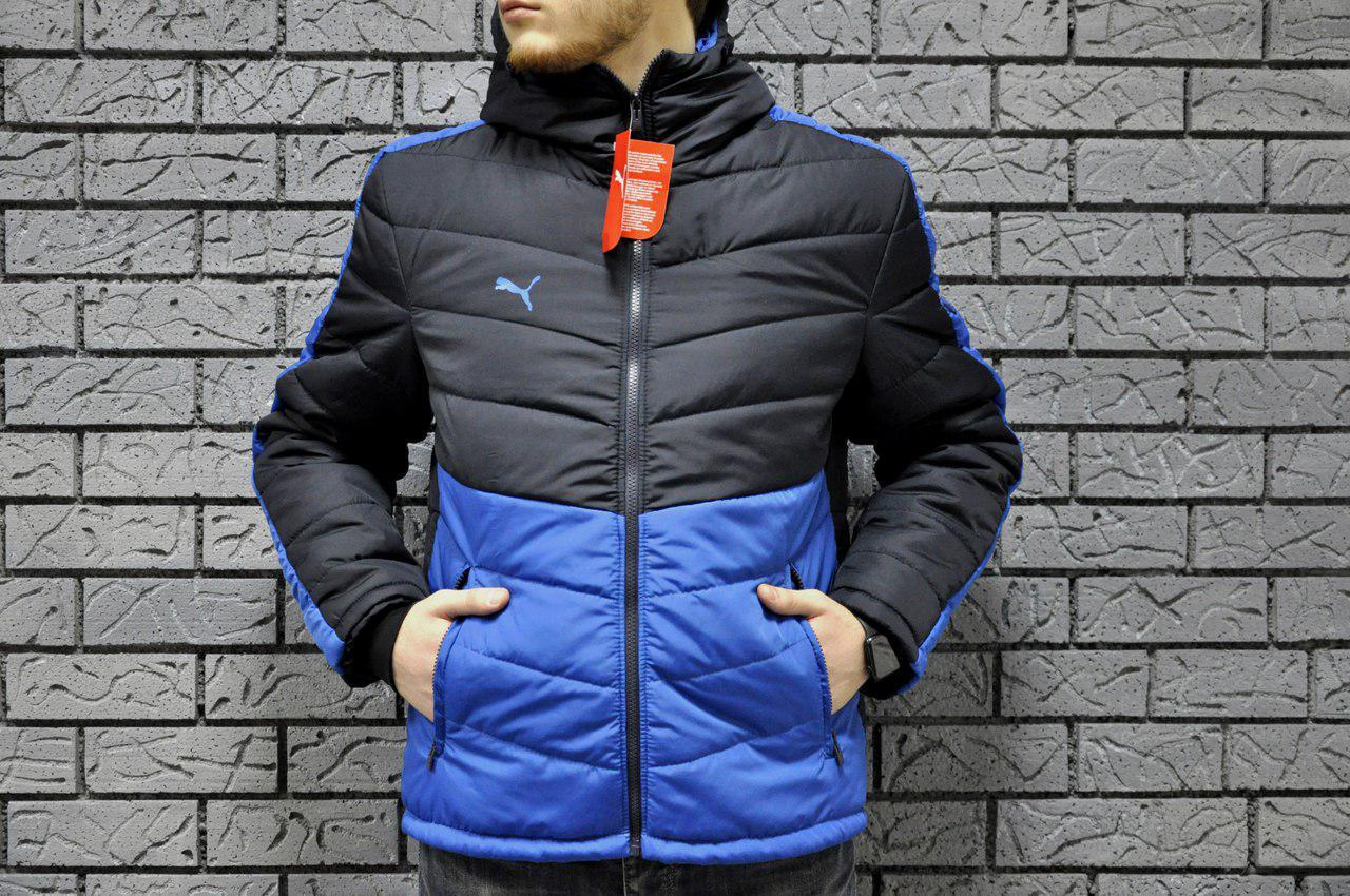 Весенняя осенняя куртка мужская пума (Puma) купить в интернет ... c643a60049080