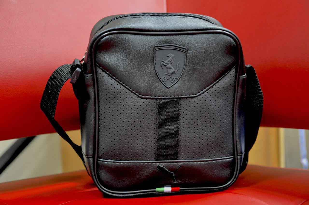 bfeb8b5e513c Мужская сумка/барсетка через плече пума (Puma феррари) - Интернет-магазин