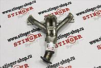 Заменитель катколлектора Stinger ВАЗ 1117, ВАЗ 1118, ВАЗ 1119 8 кл. ( 1 датчик кисл. )