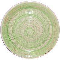 """Тарелка 7,5  """"Пастель зеленая"""""""