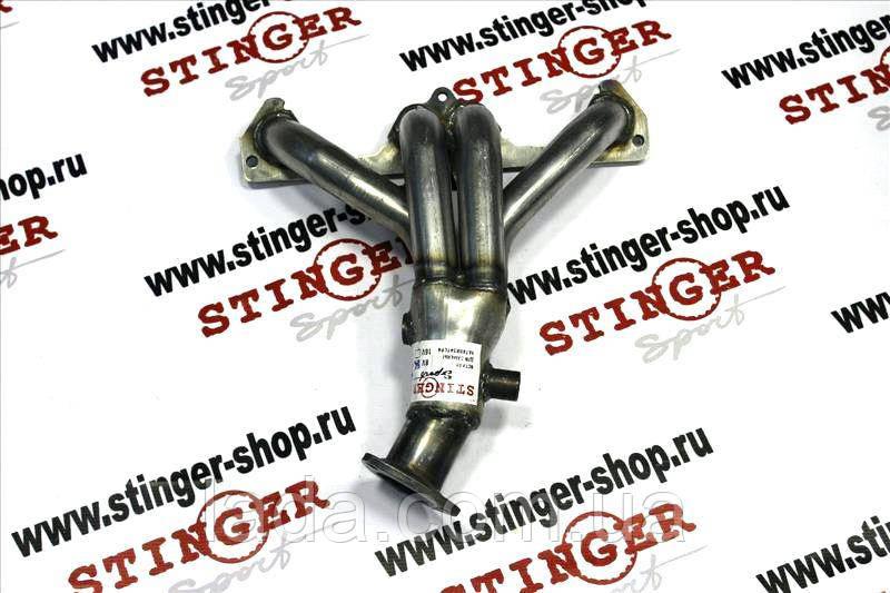Заменитель катколлектора Stinger ВАЗ 1117, ВАЗ 1118, ВАЗ 1119 8 кл. ( 2 датчика кисл. )