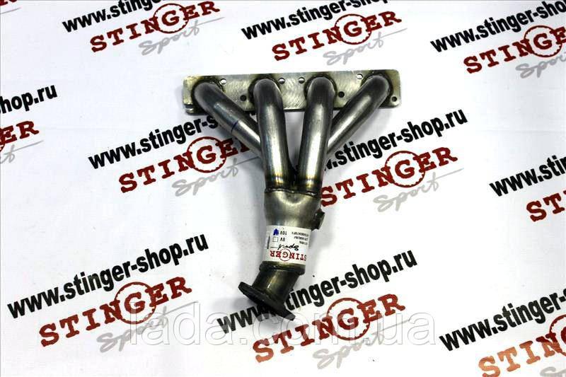 Заменитель катколлектора Stinger ВАЗ 1117, ВАЗ 1118, ВАЗ 1119 16 кл. ( 1 датчик кисл. )