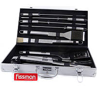 Набор для барбекю Fissman 10 предметов в кейсе