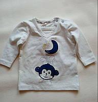 Кофточка для новорожденного мальчика из органического хлопка, размер 56 (1-2 мес.) ТМ Name it 13124026
