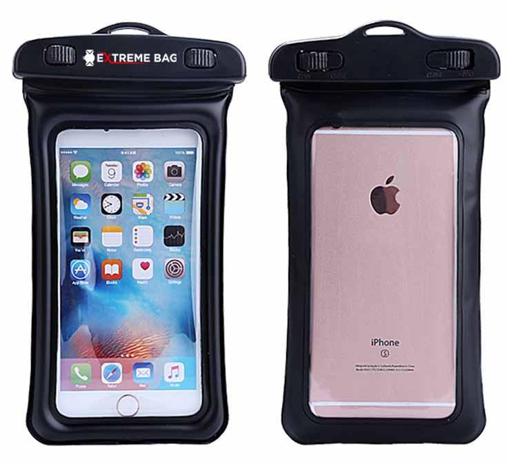 Водонепроницаемый чехол Extreme Bag для смартфонов до 5,5 '' черный