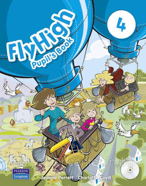 Fly High 4  Комплект (Учебник + Тетрадь)