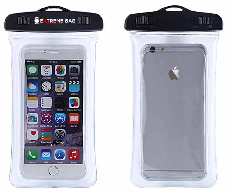 Водонепроницаемый чехол Extreme Bag для смартфонов до 6 '' прозрачный