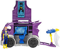 DC Super Hero Girls Супер герои фургон Бетгёрл раскладной Batgirl Vehicle Playset, фото 1