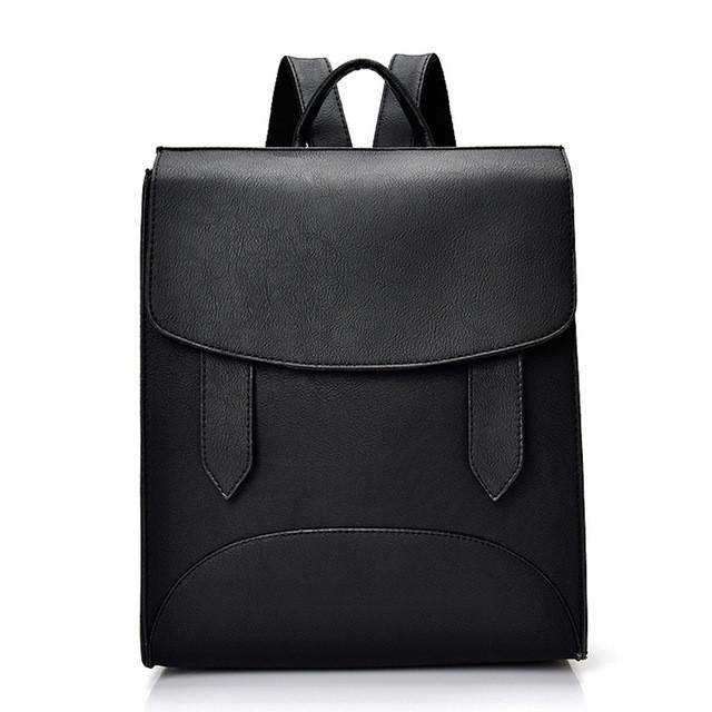 f352f6dd28b7 Рюкзак женский городской с хлястиками (черный): продажа, цена в ...