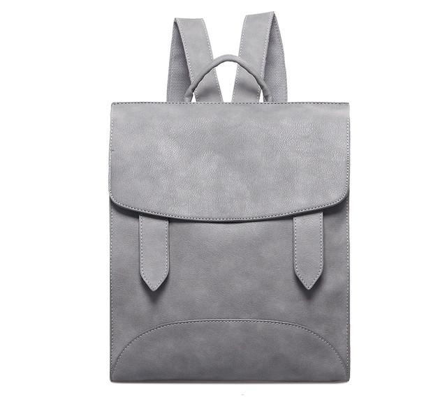 315ed8448340 Рюкзак женский городской с хлястиками (серый), цена 799 грн., купить ...