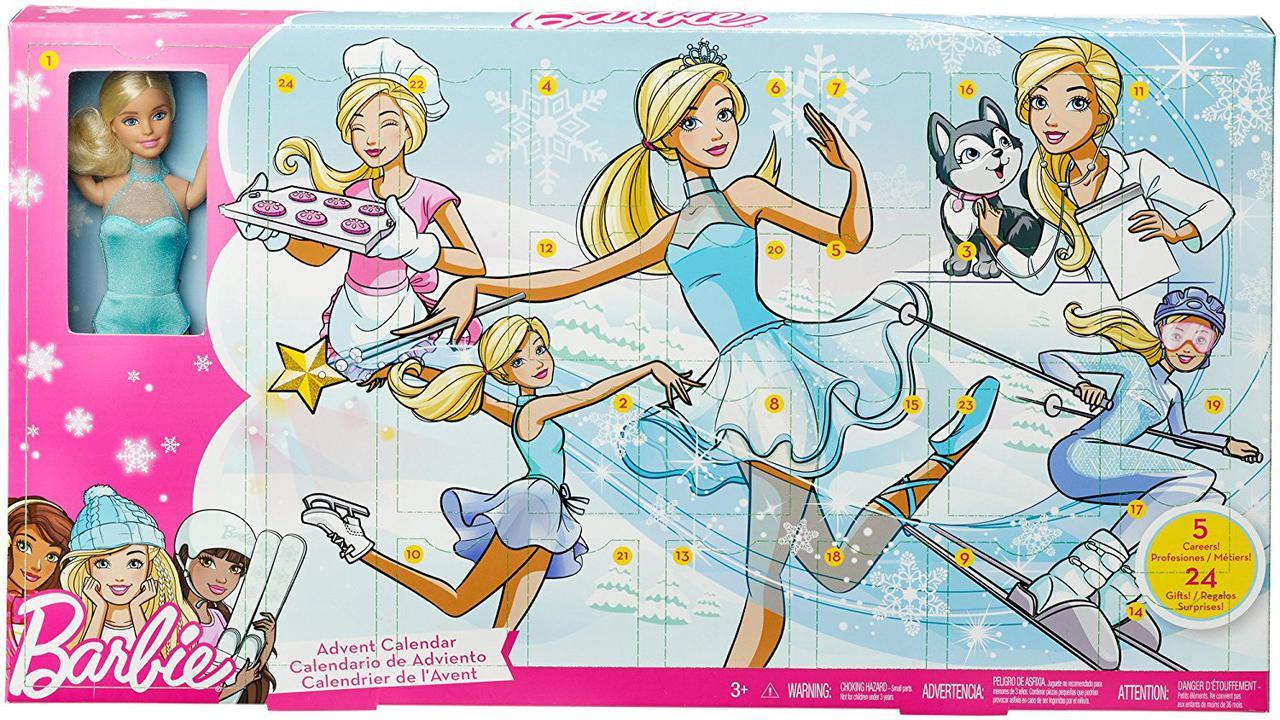 Кукла Барби Адвант календарь Barbie Careers Advent Calendar Оригинал Днепр