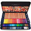 Профессиональные цветные карандаши 100 шт в металлическом пенале, Marco Renoir Fine Art