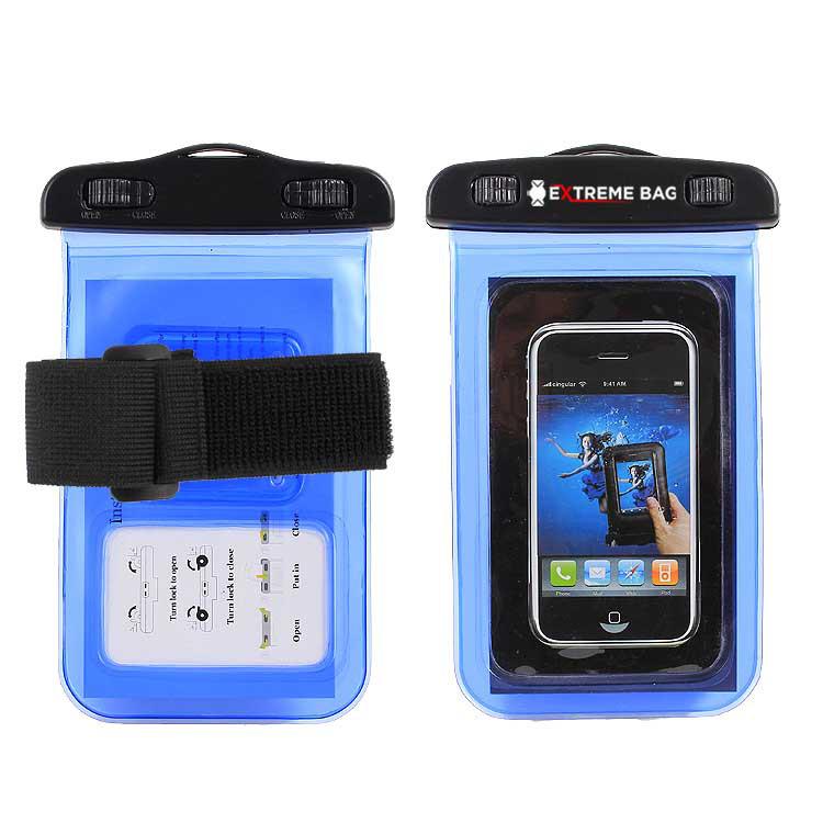 Водонепроницаемый чехол Extreme Bag для смартфонов до 5 '' синий