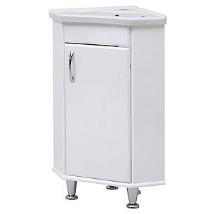 """Тумба под раковину для ванной комнаты Ангулар с умывальником """"Дорадо"""" Юввис, фото 2"""