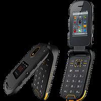 """IOutdoor F2, IP68, кнопка SOS, 1200 mAh, 2 SIM, MP3/MP4, дисплей 2.4"""", телефон-раскладушка с настоящей защитой"""
