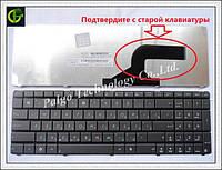 Клавиатура для ноутбука ASUS X54 rus, black (N53 version)