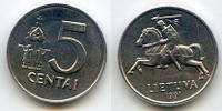 Литва 5 сентаи 1991г.