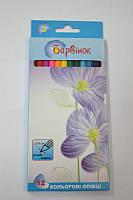 Карандаши 12цветов  Цветы