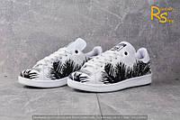Женские кроссовки Adidas Stan Smith Tropik black