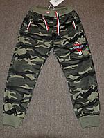 Камуфляжные,Трикотажные спортивные штаны для мальчиков.Размеры 122-146 см.Фирма GRACE.Венгрия