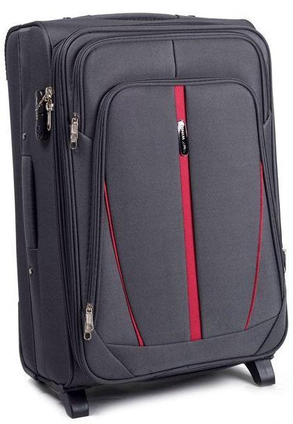 Надежный тканевый чемодан Wings 1706 Vt00046, 110 л