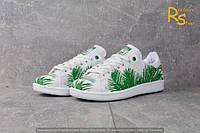 Женские кроссовки Adidas Stan Smith Tropik green