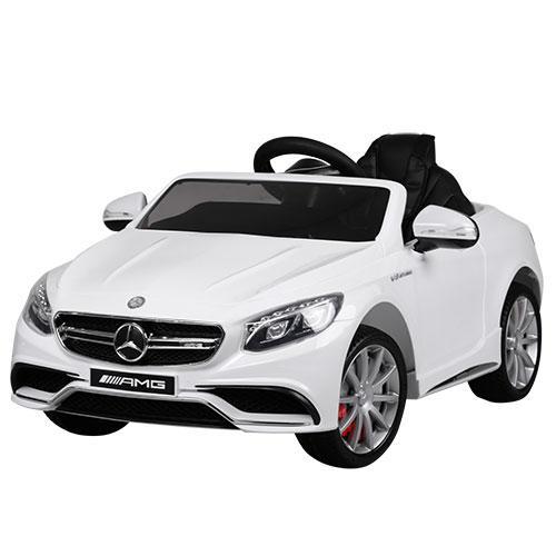 Детский электромобиль Bambi Mercedes M 2797 EBLR белый