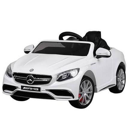 Детский электромобиль Bambi Mercedes M 2797 EBLR белый, фото 2