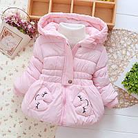 Курточка для девочки зимняя 3-4 года размер 100