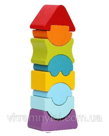 Гнучка вежа LD-8. Дерев'яна іграшка