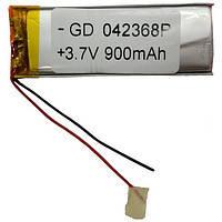 Литий-полимерный аккумулятор GD 042365P 3,7V 900 mAh 22x65mm