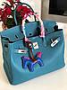 Изумительная женская сумка Гермес Биркин 35 см (реплика)