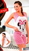 Пижамы  шорты  с майкой