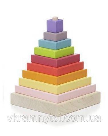 Пірамідка LD-5. Дерев'яна іграшка