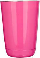"Шейкер""Бостон""мини розового цвета V 400 мл (шт)"