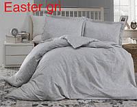 Постельное белье сатин Altinbasak (евро-размер) № Easter Gri, фото 1