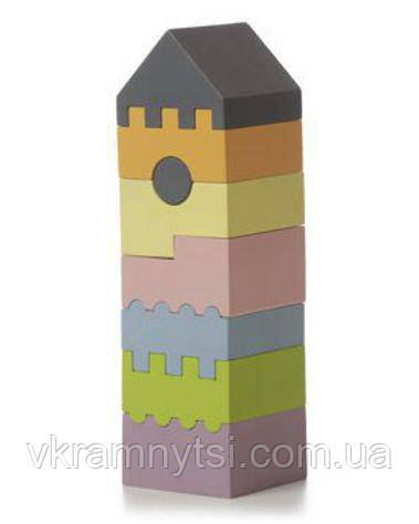Пірамідка LD-3. Дерев'яна іграшка