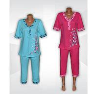 Легкие женские пижамы классической серии София с принтом - встречайте весну ярко!