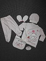 Комплект(Турция) для крещения (девочка) Little Bear от Golsen