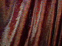 Популярная коричневая однотонная штора.